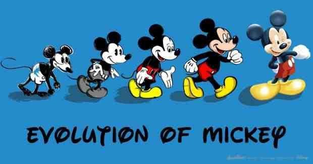 the-evolution-of-mickey-mouse