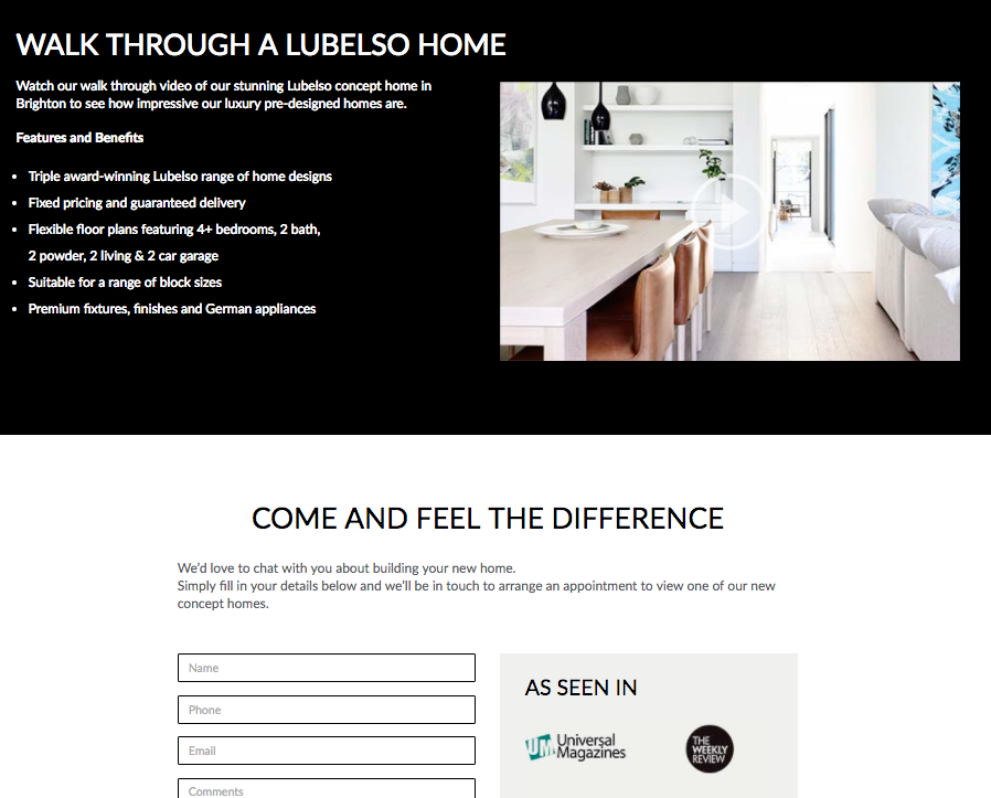 lubelso luxury home builder